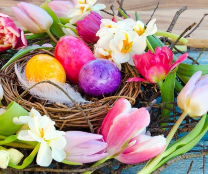 Wir wünschen unseren Kunden genussvolle Ostertage